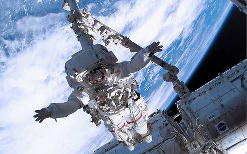 Man 39 s ability to remain in outer space weightlessness for When was the international space station built