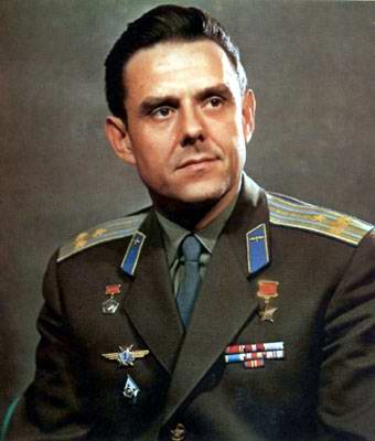 Space travel critical situations - Vladimir Komarov Russian cosmonaut photo