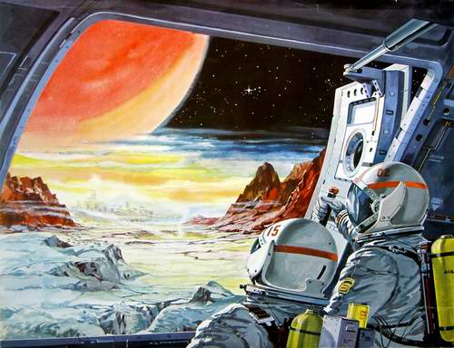 Problems in space travel - first days of space exploration feelings 5th picture