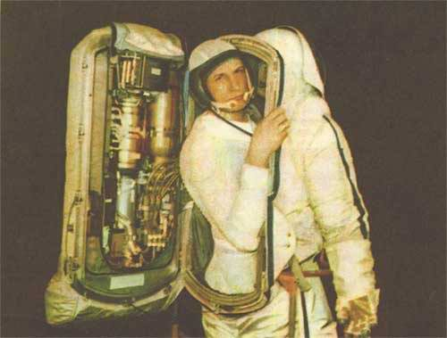 Problems in space travel - space suits 6th picture