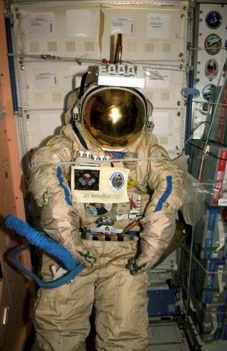 Problems in space travel - space suits 7th picture