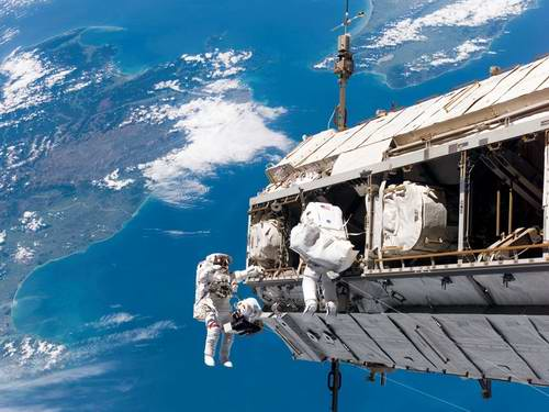 what hazards does man confront in outer space part 1