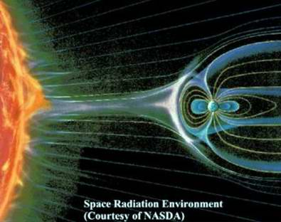 Problems in space travel - space hazards: space radiation 1st photo