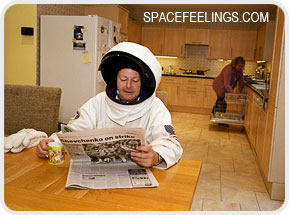Space feelings i feel space